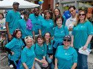group of cystic fibrosis walk volunteers from ROSS Companies