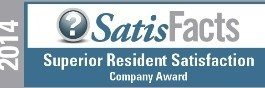 ROSS Management Services' SatisFacts Resident Satisfaction Award 2015 Logo 2