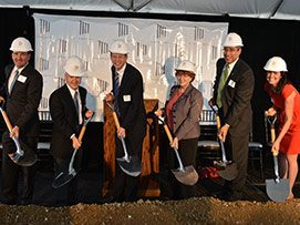 ROSS and JBG teams breaking ground at 7770 Norfolk property