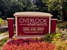 Overlook Apartments in Hyattsville entrance sign