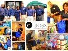 collage of photos featuring ROSS Companies volunteers
