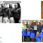 collage of ROSS Companies employees, CASA logo and Glen Oaks Apartments logo