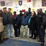 group of volunteers from Seven Springs Apartments
