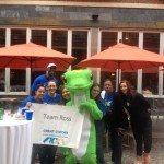 ROSS Companies Employees Pose with GEICO at the Cystic Fibrosis Foundation Great Strides Walk in Alexandria, VA