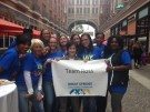 ROSS Companies Employees Participating in the Cystic Fibrosis Foundation Great Strides Walk in Alexandria, VA 2