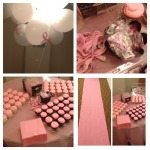 ROSS Companies' Pink Cupcakes and Balloons Arranged for Breast Cancer Awareness Month