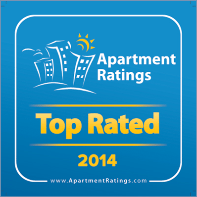 ROSS Management Services' Apartment Ratings 2014 Top Rated Award Logo 3