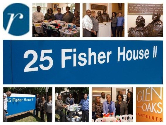 Fisher House Collage