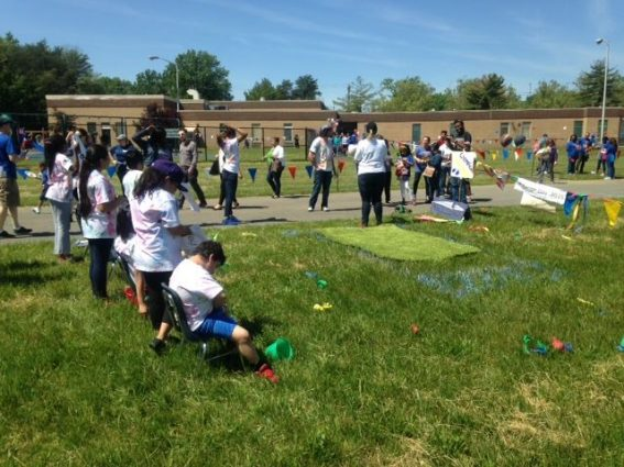 ROSS Companies' Clean-Up Event at James E. Duckworth School in Beltsville, MD 2