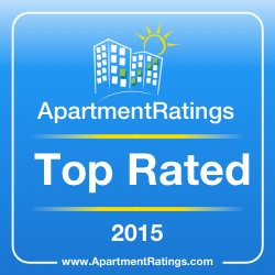ROSS Management Services' Apartment Ratings 2015 Top Rated Award Logo 2