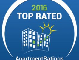 ROSS Management Services' Apartment Ratings 2016 Top Rated Award Logo 3