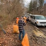 ROSS Companies Employees Collect Trash and Clean up Public Roads in Their Community